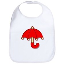 Red Umbrella Badge Bib