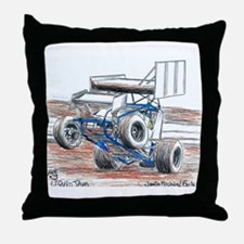 Wheel stand Throw Pillow