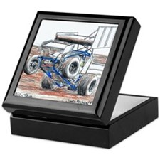 Wheel stand Keepsake Box
