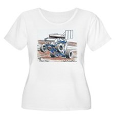 Wheel stand Plus Size T-Shirt
