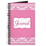 Pretty Pink Lace Journal Journal