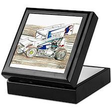 Sprints at Lincoln Keepsake Box