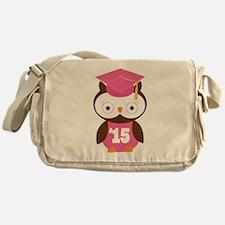 2015 Owl Graduate Class Messenger Bag