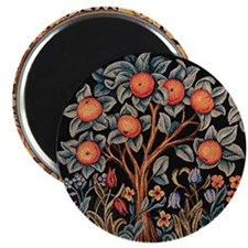 Orange Tree of Life Magnet