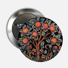 "Orange Tree of Life 2.25"" Button"
