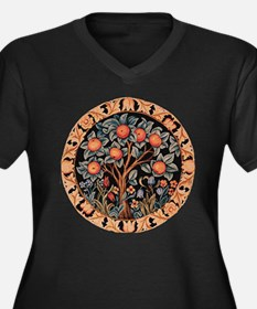 Orange Tree of Life Plus Size T-Shirt