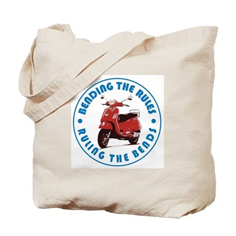 Ruling the Bends Tote Bag