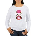 2027 Owl Graduate Class Women's Long Sleeve T-Shir