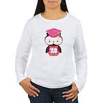 2028 Owl Graduate Class Women's Long Sleeve T-Shir