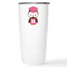 2028 Owl Graduate Class Travel Mug