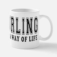 Curling It's A Way Of Life Mug