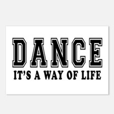 Dance It's A Way Of Life Postcards (Package of 8)