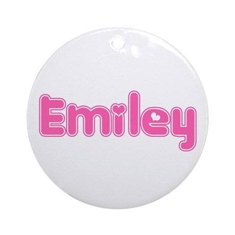 """Emiley"" Ornament (Round)"