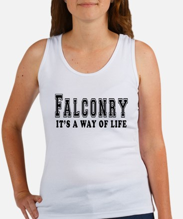 Falconry It's A Way Of Life Women's Tank Top