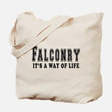 Falconry It's A Way Of Life Tote Bag