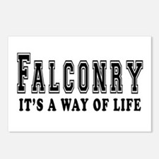 Falconry It's A Way Of Life Postcards (Package of