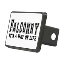 Falconry It's A Way Of Life Hitch Cover