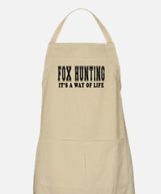 Fox Hunting It's A Way Of Life Apron