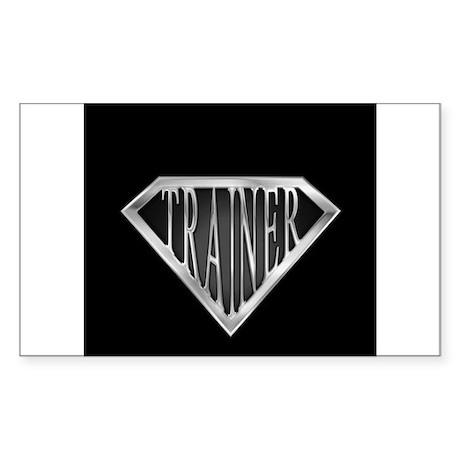 SuperTrainer(metal) Sticker