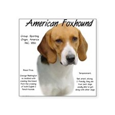 American Foxhound Rectangle Sticker
