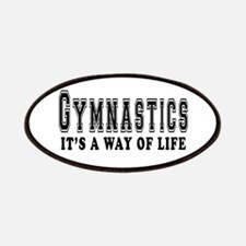 Gymnastics It's A Way Of Life Patches