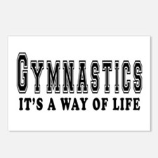 Gymnastics It's A Way Of Life Postcards (Package o