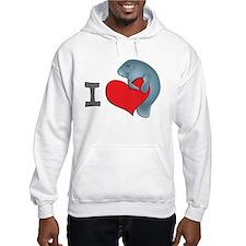 I heart manatees Hoodie