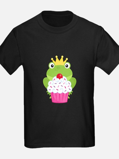 Frog Princess Birthday Cupcake T-Shirt