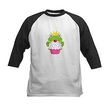 Frog Princess Birthday Cupcake Baseball Jersey