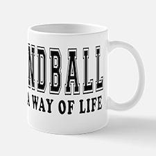 Handball It's A Way Of Life Mug