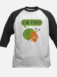 5th Birthday Hermit Crab Tee