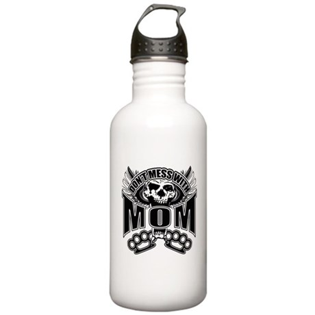 Don't mess with mom Stainless Water Bottle 1.0L