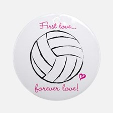 First love...forever love! Ornament (Round)