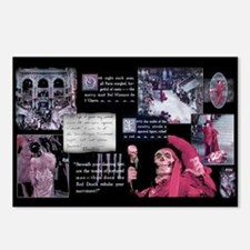 Classic Masked Ball Collage Postcards (Package of