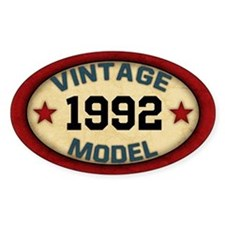 CUSTOM YEAR Vintage Model Decal