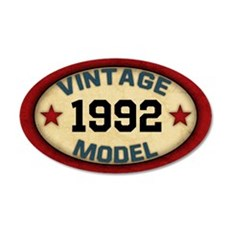 CUSTOM YEAR Vintage Model Wall Decal