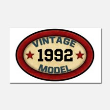 CUSTOM YEAR Vintage Model Car Magnet 20 x 12