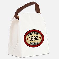 CUSTOM YEAR Vintage Model Canvas Lunch Bag