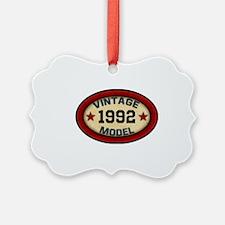 CUSTOM YEAR Vintage Model Ornament