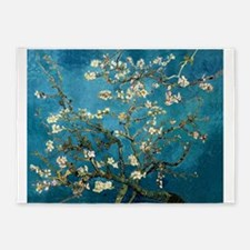 Blossoming Almond Tree, Vincent van Gogh 5'x7'Area