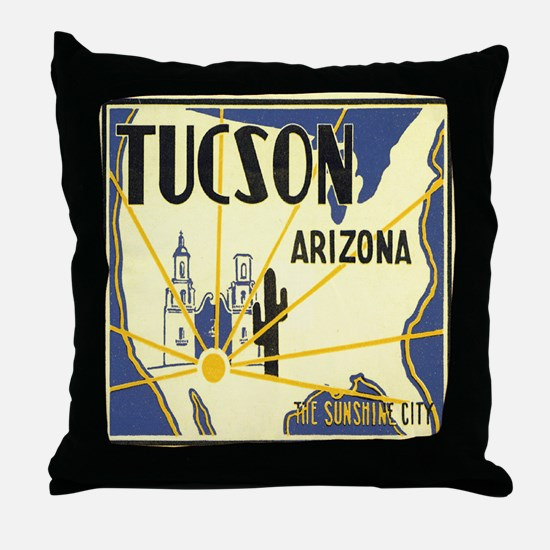 Tucson Arizona Throw Pillow
