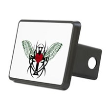 Love Flys into a Heart Hitch Cover