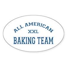 AA Baking Team Oval Decal
