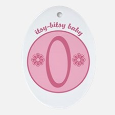 Baby O Oval Ornament