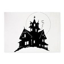 haunted house 5'x7'Area Rug