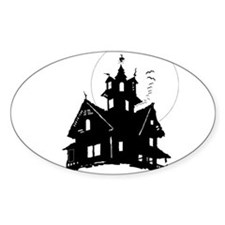 haunted house Decal