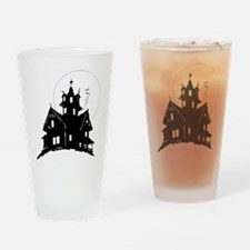 haunted house Drinking Glass