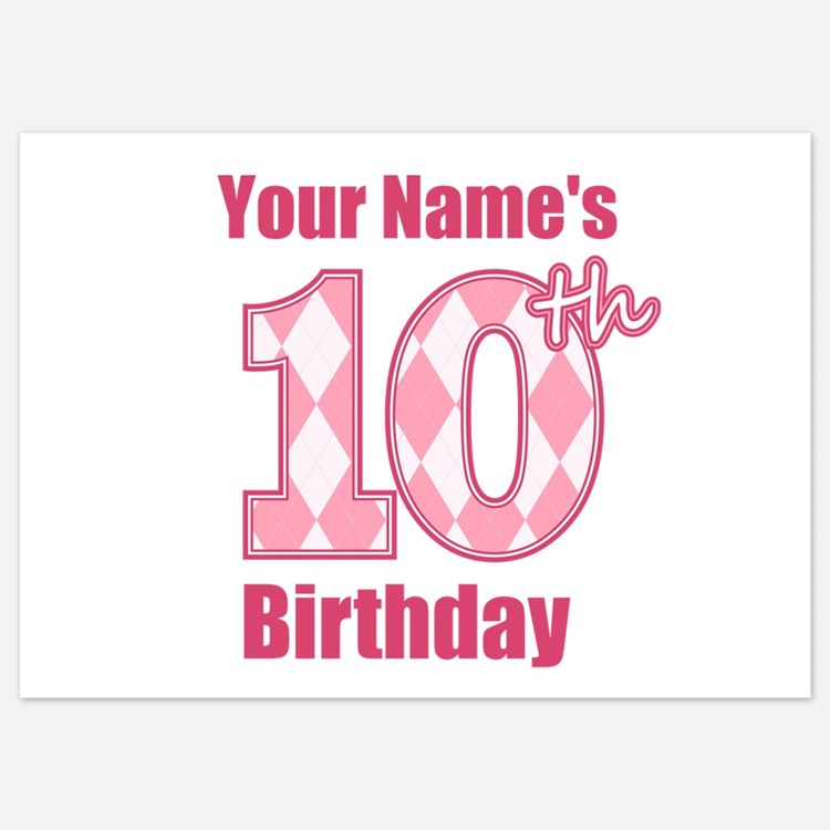 10Th Birthday Invitations for 10th Birthday – 10th Birthday Invitations