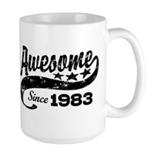 Awesome Since 1983 Mug