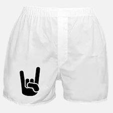 Rock Metal Hand Boxer Shorts